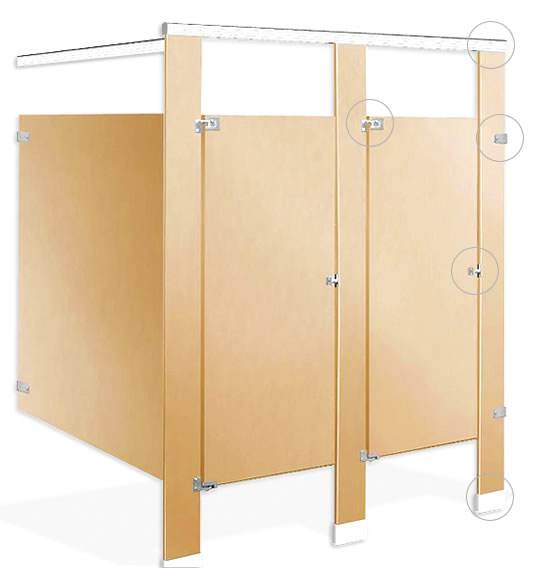 Toilet Partition Hardware Experts Galaxy Hardware New Bathroom Partition Hardware